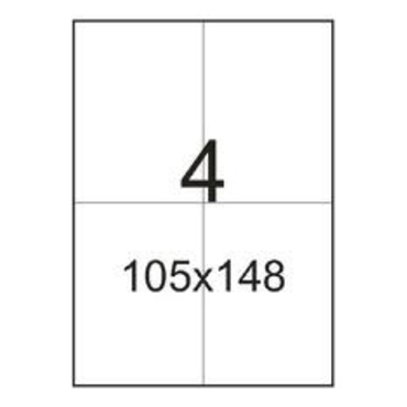 Самоклеящаяся этикетка A4 105х148