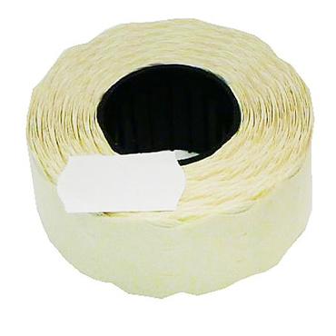 Этикет-лента 22 х 12 белая, волна