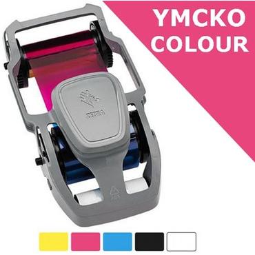 Картридж с лентой для цветной печати на 200 отпечатков для Zebra ZC100/ZC300 (800300-350EM)