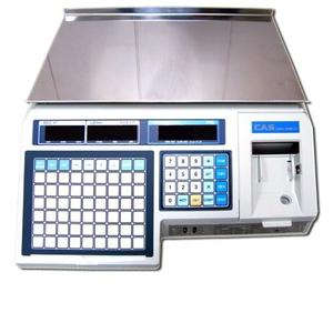 Весы с печатью чека CAS LP