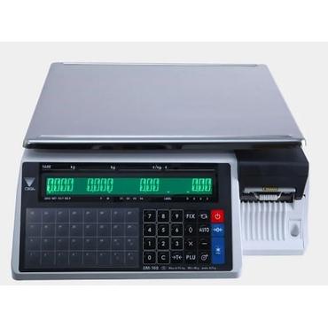 Весы с печатью чека DIGI SM-100B CS