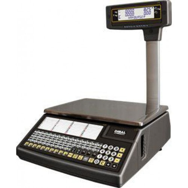 Весы с печатью чека Dibal W025T ALPHA 6/15KG