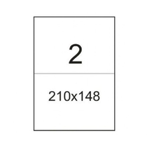 Самоклеящаяся этикетка A4 210х148