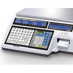 Весы с печатью чека CAS CL5000J-IS
