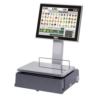 Весы с печатью чека Dibal CS-1100 W