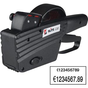 Этикет-пистолет Blitz C20 (двухстрочный)