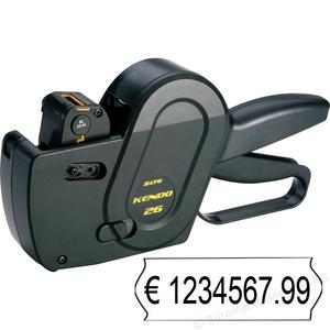 Этикет-пистолет Sato Kendo 26 (однострочный)