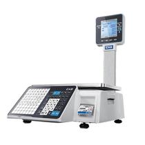 Весы с печатью чека CAS CL3500-P
