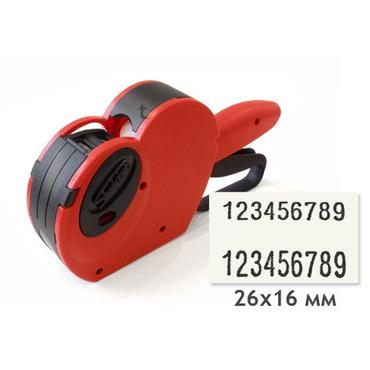 Этикет-пистолет Smart 2616-20 (двустрочный)